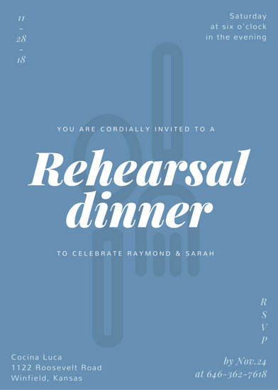 Rehearsal Dinner Invitation Templates - Canva - dinner invitation template