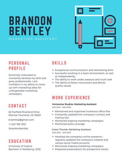 Customize 192+ Corporate Resume templates online - Canva - company resume