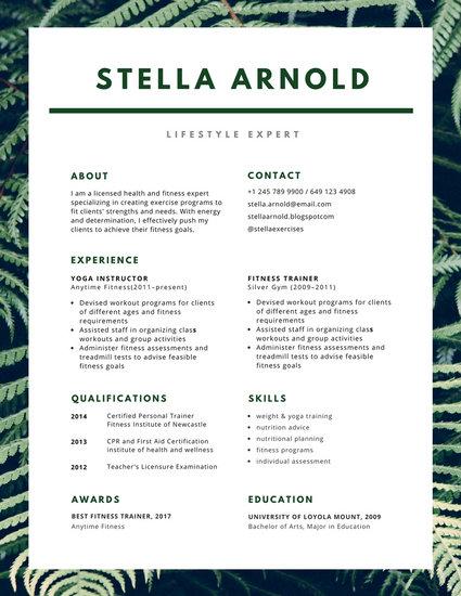 Customize 981+ Resume templates online - Canva