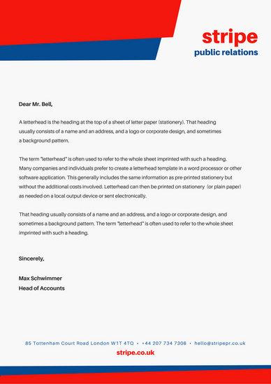 Customize 833+ Letterhead templates online - Canva