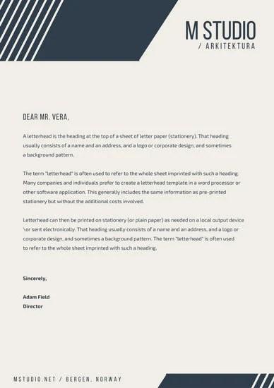 Customize 833+ Letterhead templates online - Canva - letterhead layout