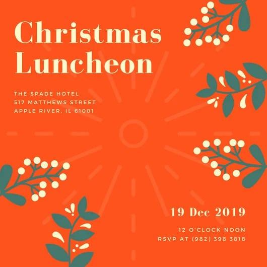 christmas lunch invite - Goalgoodwinmetals - christmas luncheon flyer