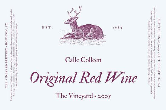 Plum Classic Wine Label - Templates by Canva - wine label