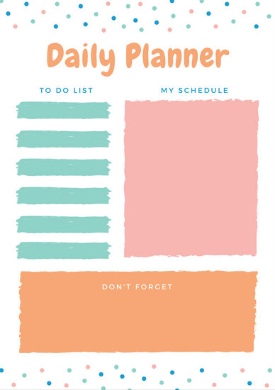 Customize 610+ Planner templates online - Canva - templates