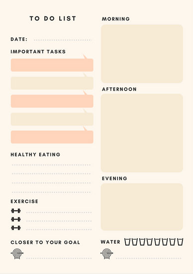 Customize 49+ Personal Planner templates online - Canva