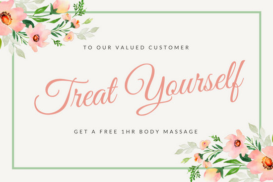 Customize 100+ Massage Gift Certificate templates online - Canva