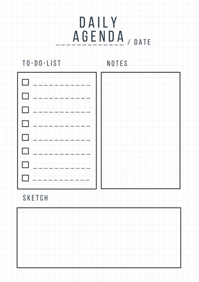 Customize 94+ Daily Planner templates online - Canva - daily planning template