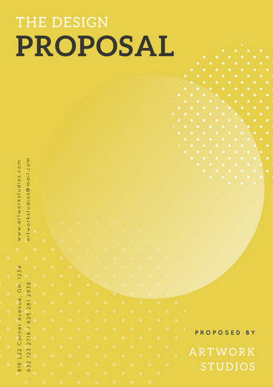 Customize 203+ Proposal templates online - Canva - design proposal