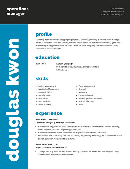 students resume templates
