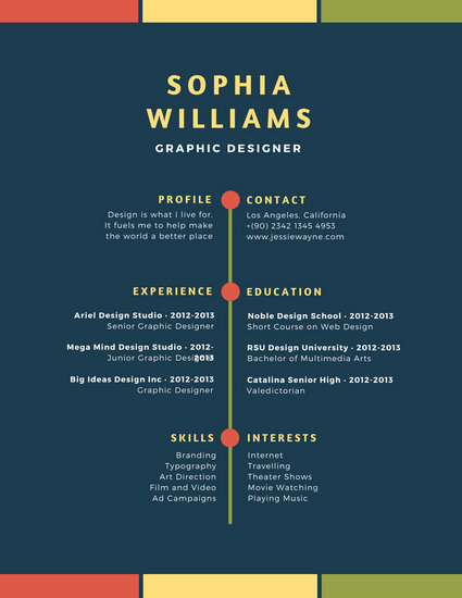 graphic designer resumes
