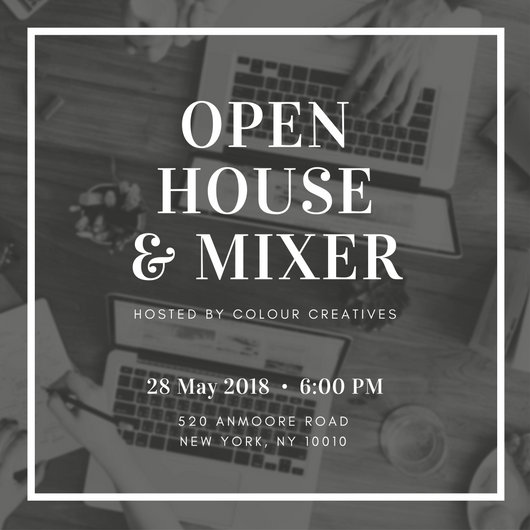 open house invitation wording