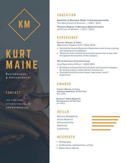 Modern Resume Templates - Canva - modern resume formats