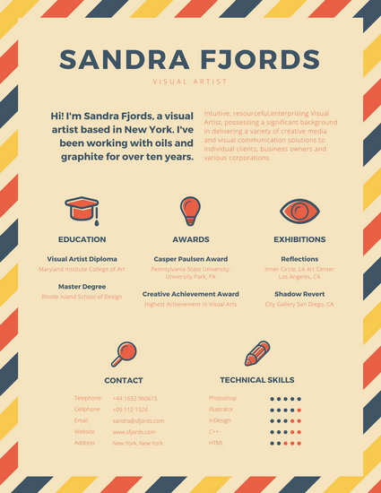 infographic resume builder cover letter