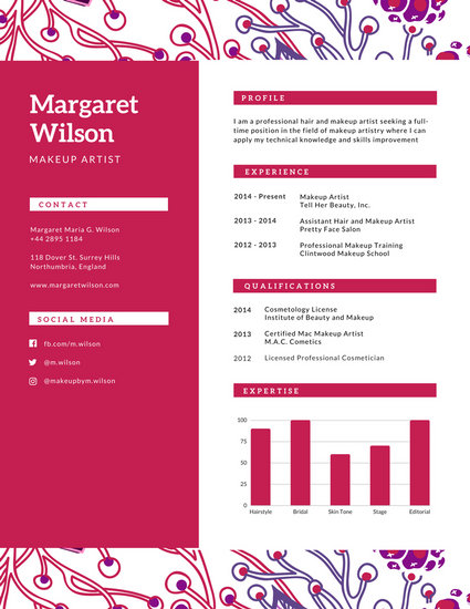 pretty resume - Onwebioinnovate - floral assistant sample resume