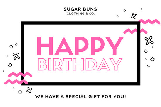 White Memphis Style Birthday Gift Certificate - Templates by Canva