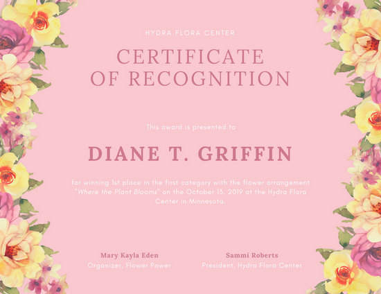 Customize 204+ Recognition Certificate templates online - Canva