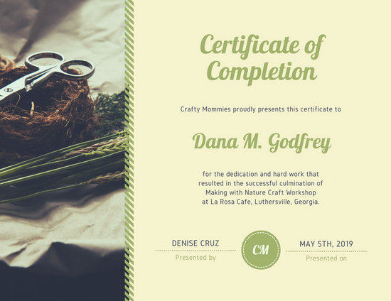 Customize 265+ Completion Certificate templates online - Canva