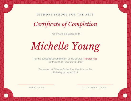 Customize 298+ School Certificate templates online - Canva - school certificate templates