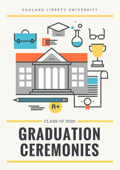 Customize 137+ Graduation Program templates online - Canva - graduation program template pdf