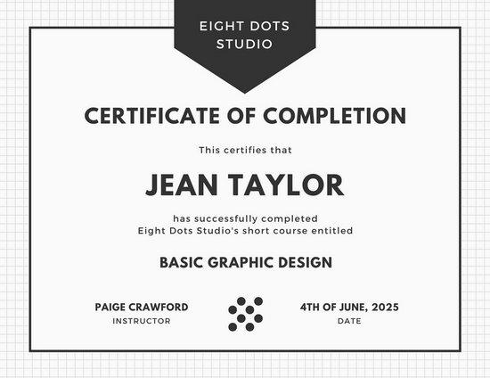 Customize 180+ Course Certificate templates online - Canva