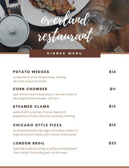 Customize 404+ Dinner Party Menu templates online - Canva