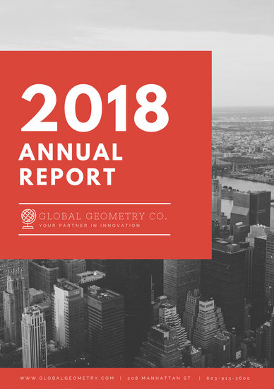 templates for annual reports