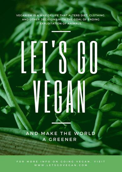 All Car Logos Wallpapers Customize 33 Vegetarian Vegan Poster Templates Online
