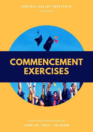 Customize 132+ Graduation Program Templates Online