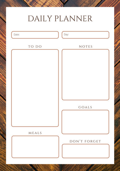 Customize 610+ Planner templates online - Canva