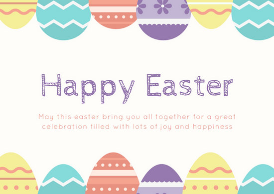 Customize 62+ Easter Card templates online - Canva