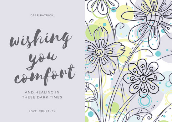 Customize 139+ Sympathy Card templates online - Canva