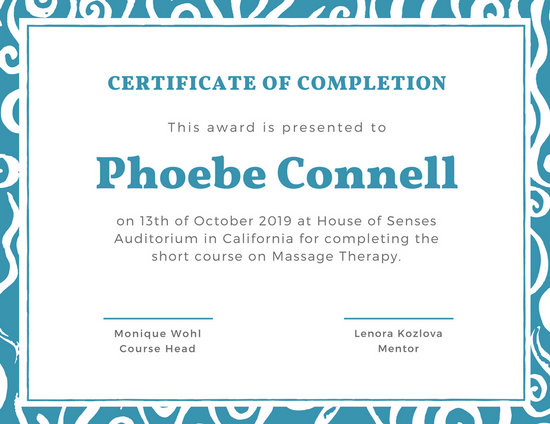 certificate completion template - Ozilalmanoof - certificate of completion sample