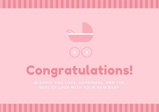 Customize 211+ Congratulations Card templates online - Canva