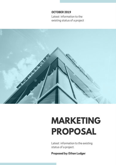 Customize 111+ Marketing Proposal templates online - Canva