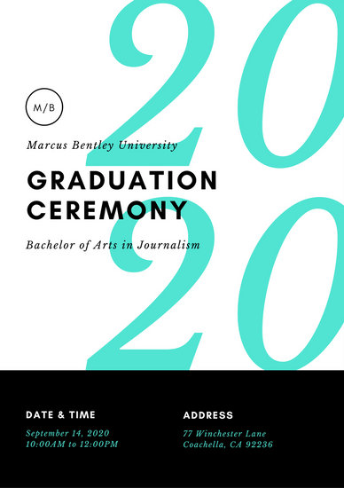 Cream Illustrated Graduation Event Program - Templates by Canva - graduation program covers