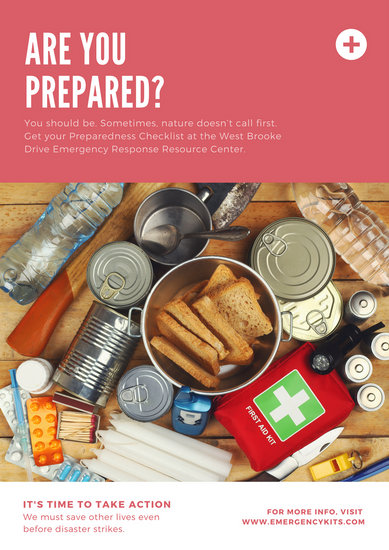 Customize 230+ Natural Disaster Emergency Response Poster templates - disaster relief flyer