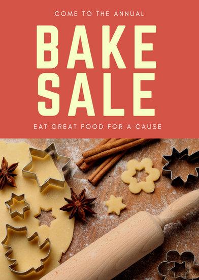 Customize 354+ Bake Sale Flyer templates online - Canva