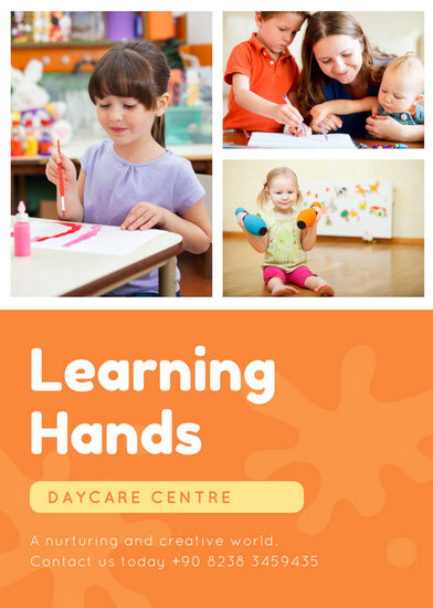 Flyer Templates - Canva - daycare flyer