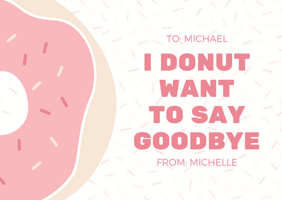 Customize 79+ Farewell Card templates online - Canva - printable goodbye cards