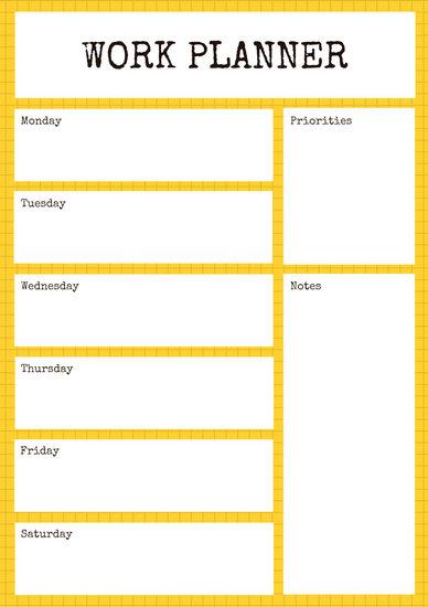 Customize 139+ Work Schedule Planner templates online - Canva - work schedule