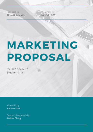 Customize 111+ Marketing Proposal templates online - Canva