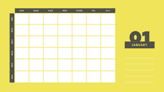 Customize 344+ Calendar templates online - Canva - calendar template