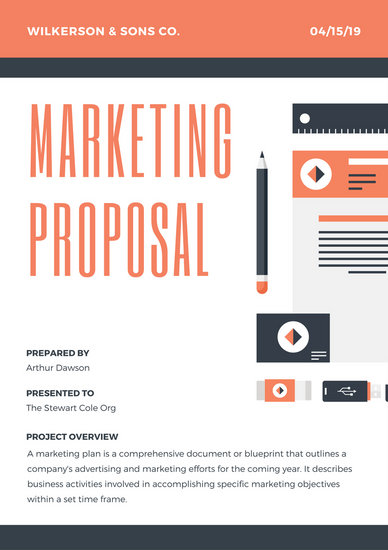 Customize 201+ Proposal templates online - Canva