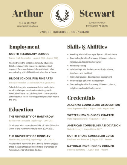 Customize 64+ Academic Resume templates online - Canva