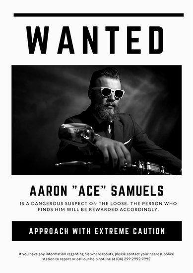 Missing person poster generator templatescharacterworldco