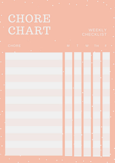 Customize 181+ Weekly Schedule Planner templates online - Canva - chore chart online
