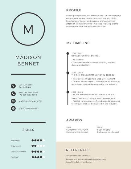 Customize 192+ Corporate Resume templates online - Canva - corporate development resume