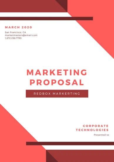 Customize 202+ Proposal templates online - Canva
