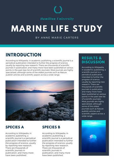 Customize 25+ Scientific Poster templates online - Canva
