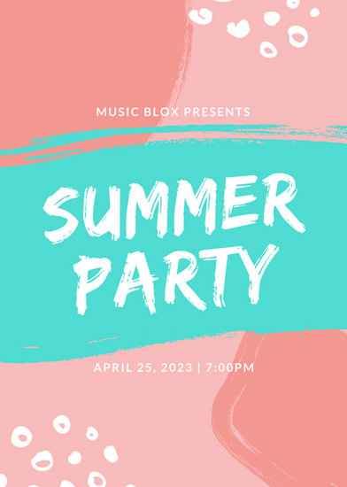Customize 219+ Party Flyer templates online - Canva